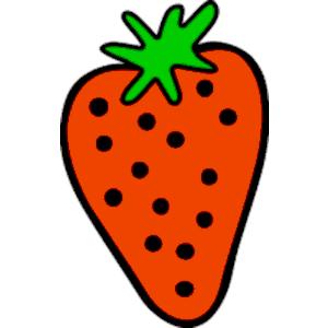 300x300 Strawberry Clipart Border