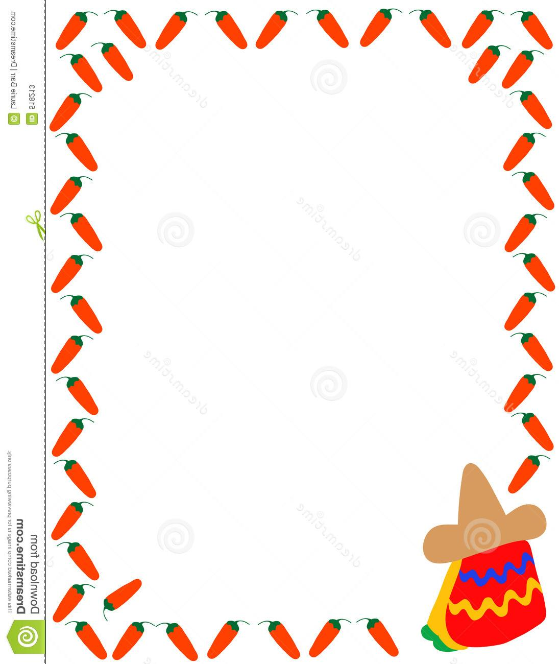 1095x1300 Best Free Mexican Clipart Border Drawing