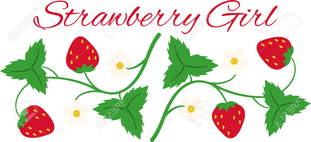 1300x594 Strawberry Clipart Strawberry Vine