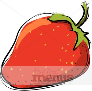 300x296 Strawberry Clipart Large