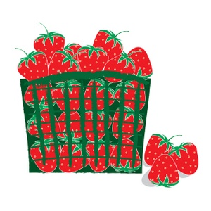 300x300 Strawberry Farmer Strawberries Clipart Free Clip Art Images Image