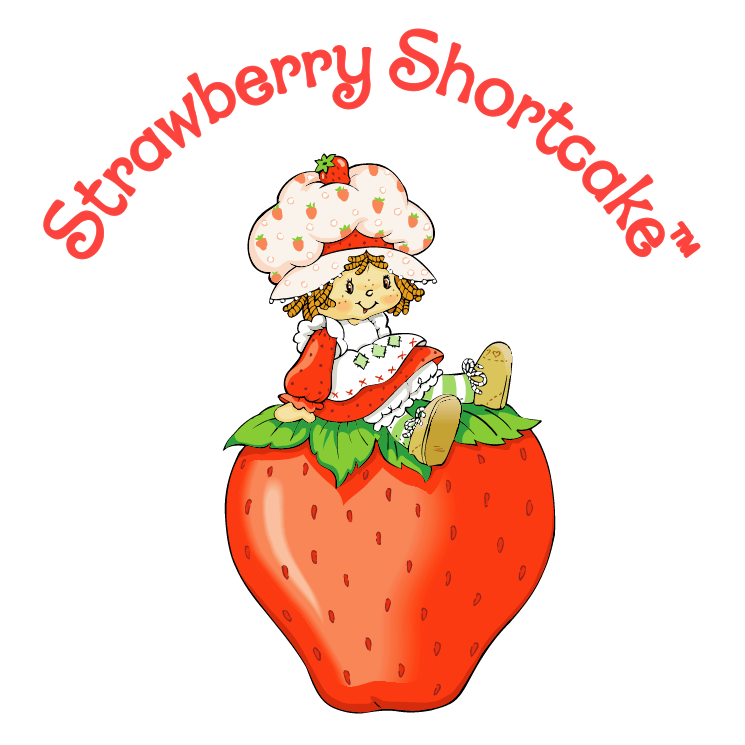 745x745 Strawberry Shortcake Vector Free Download Strawberry Free Vector