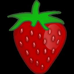 256x256 Clipart Strawberry