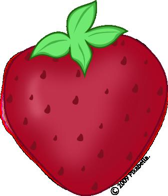 336x393 Cute Strawberry Clipart Clipart Panda
