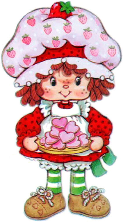 423x762 Best Strawberry Shortcake Clipart