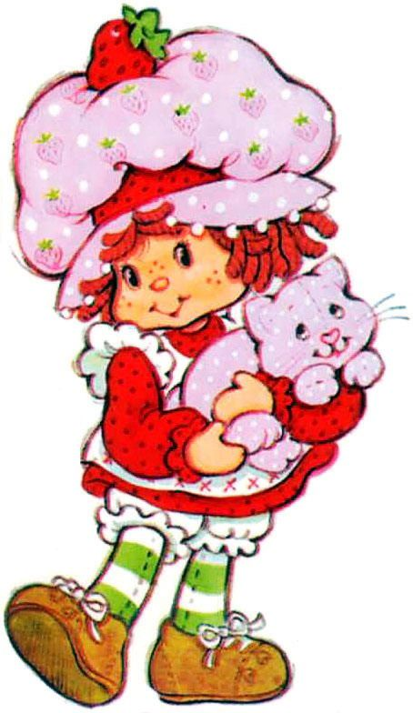 454x784 Original Clipart Strawberry Shortcake