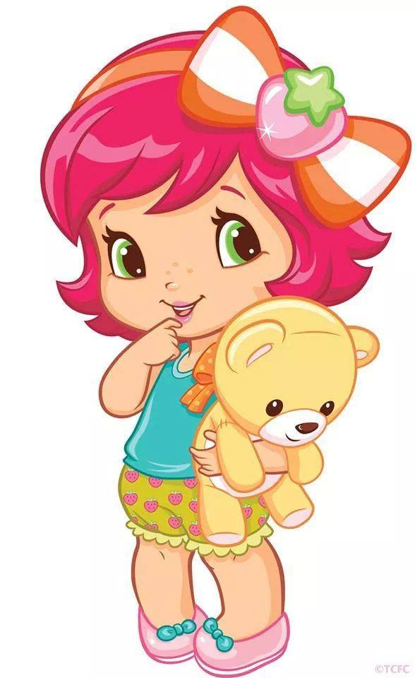 588x960 Strawberry Shortcake Baby Clip Art, 3d Cards And Precious Moments