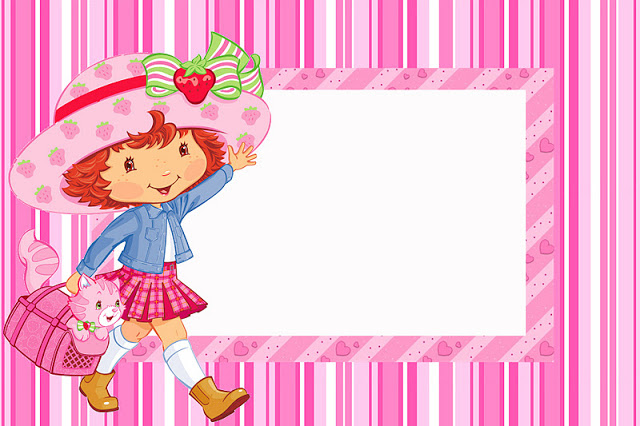 640x426 Strawberry Shortcake Free Printable Invitations. Is It