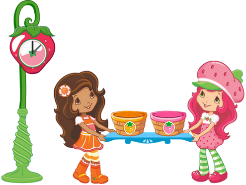 495x372 Contemporary Strawberry Shortcake Clip Art
