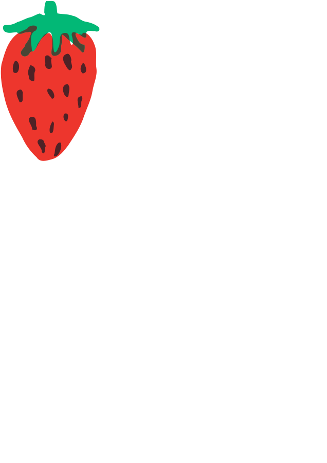 636x900 Strawberry Border