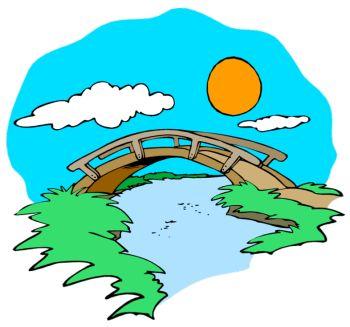 350x327 Stream Clip Art Stream Clipart (Rf) Foot Bridge Clipart Vbs