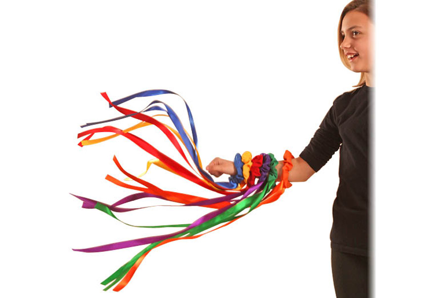 900x602 Music In Motion Wrist Ribbon Streamers