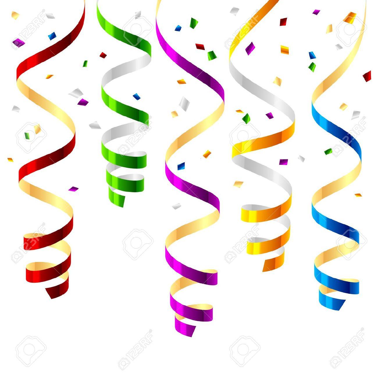 1300x1300 Ribbon Clipart Party Streamer