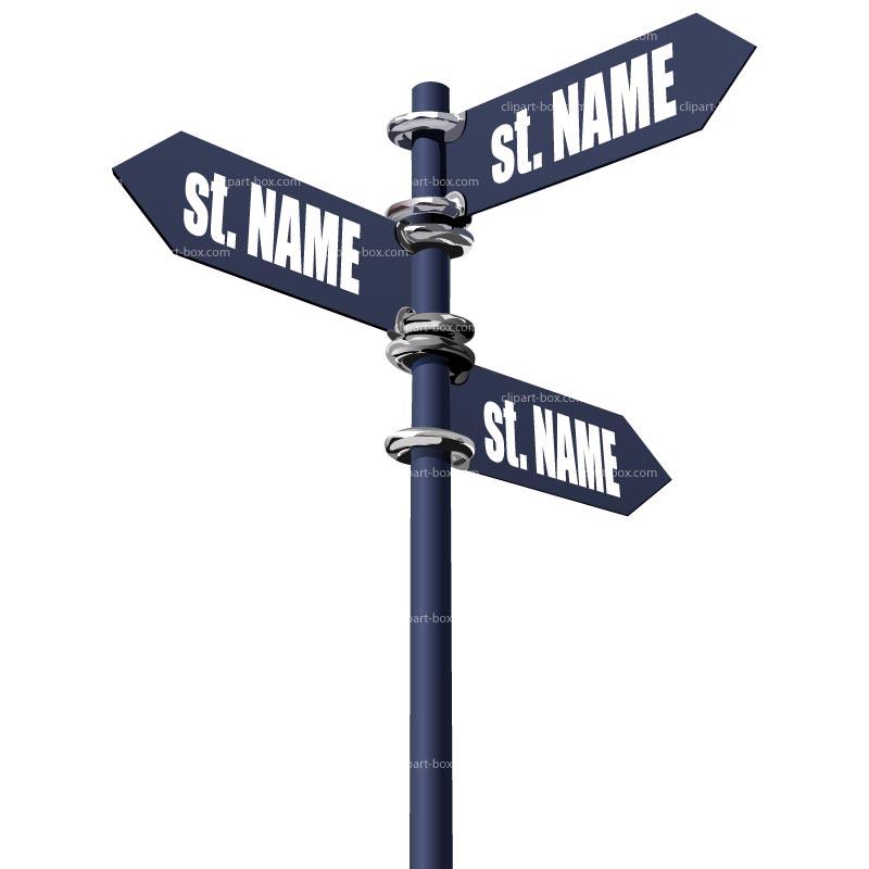 800x800 Street Clipart Street Sign