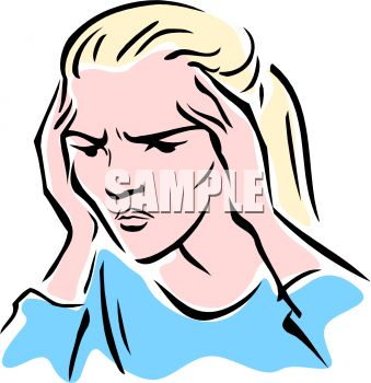 339x350 Woman With A Headache