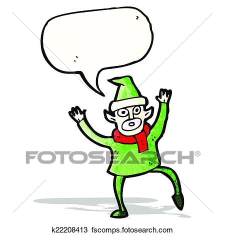 450x470 Clipart Of Stressed Out Christmas Elf Cartoon K22208413
