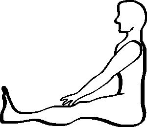 300x260 Human, Humain, Umano Seduto Clip Art