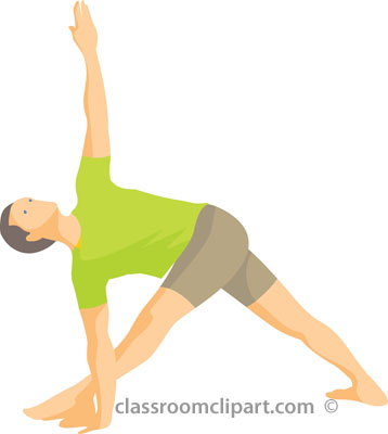 358x400 Stretching Exercises Clipart