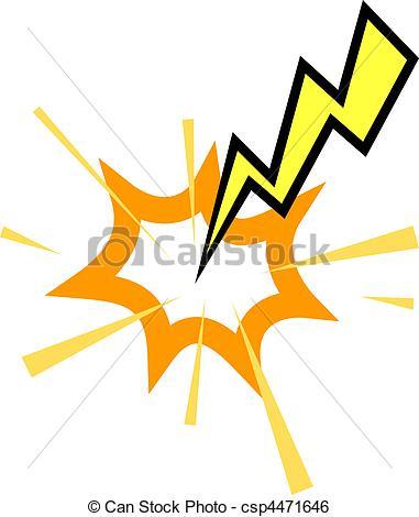 381x470 Lightening Clipart Lightning Strike