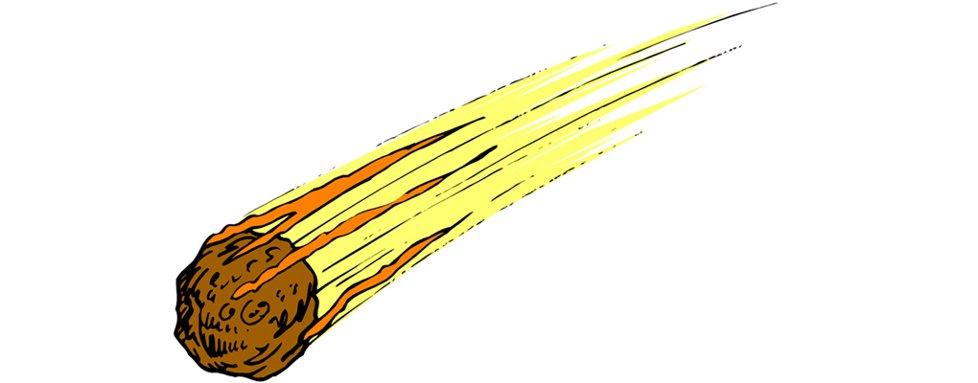 978x383 Asteroid Strike Clip Art Cliparts