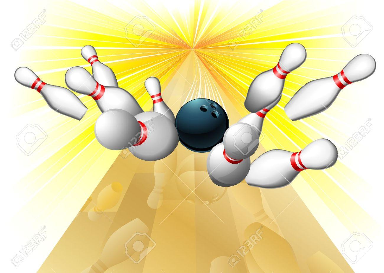 1300x926 Bowling Clipart Bowling Strike