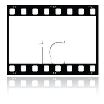 350x350 Film Strip Or Strip Of Film