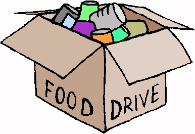 386x265 Holiday Food Drive Clipart