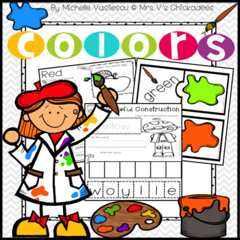 350x350 Teaching Colors Unit Worksheets And Color Centers Beginning