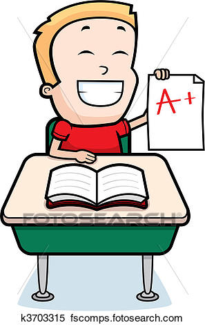 297x470 Clipart Of Boy Student K3703315