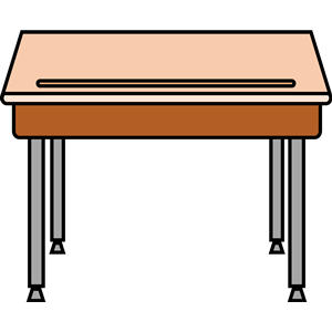 300x300 Student Desk Clipart, Cliparts Of Student Desk Free Download (Wmf