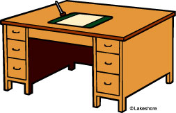 253x163 Desk Clip Art