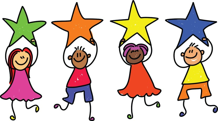 830x462 Kindergarten star student clipart