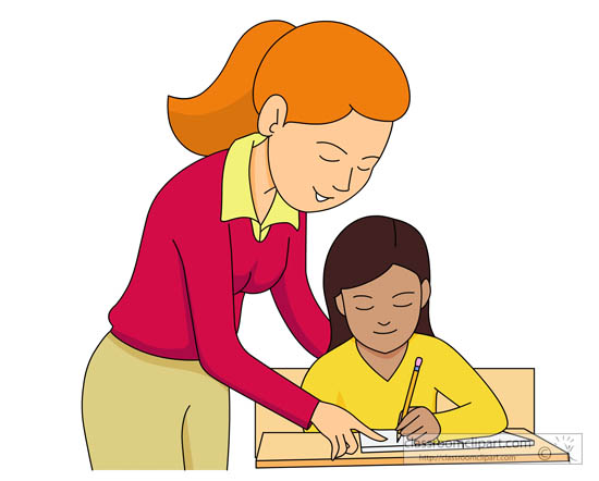 550x442 Teacher And Students Clip Art Clipart