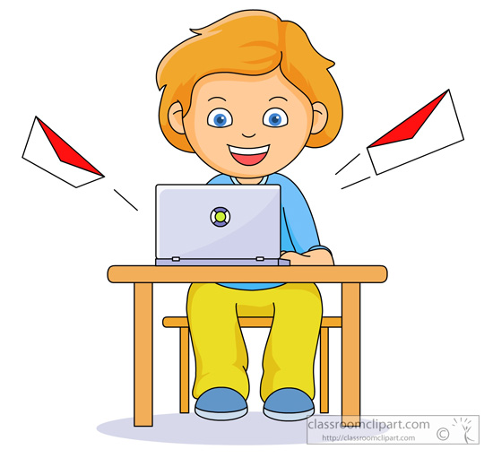 550x511 mail student clipart