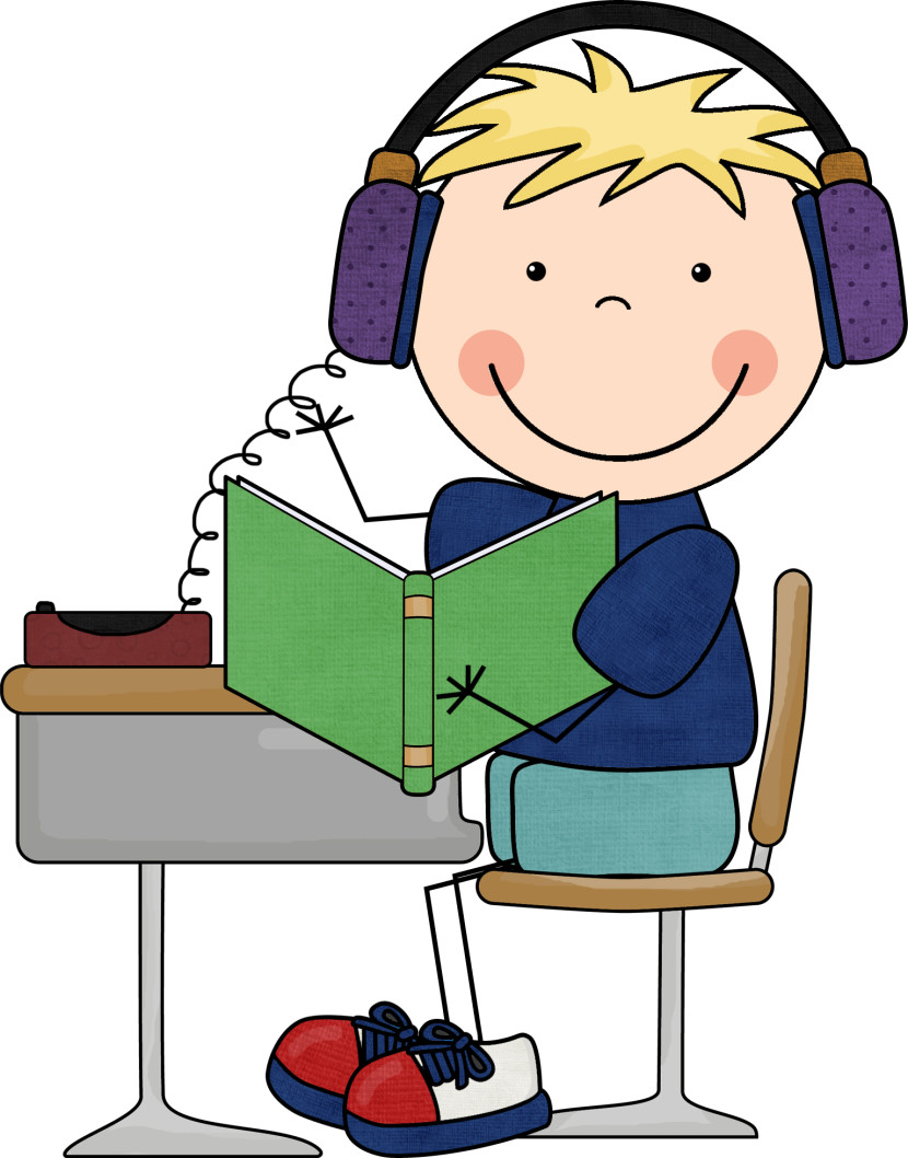830x1058 Listening Center Clipart