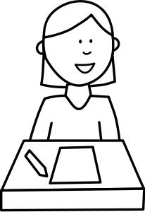206x300 Student Clip Art Download