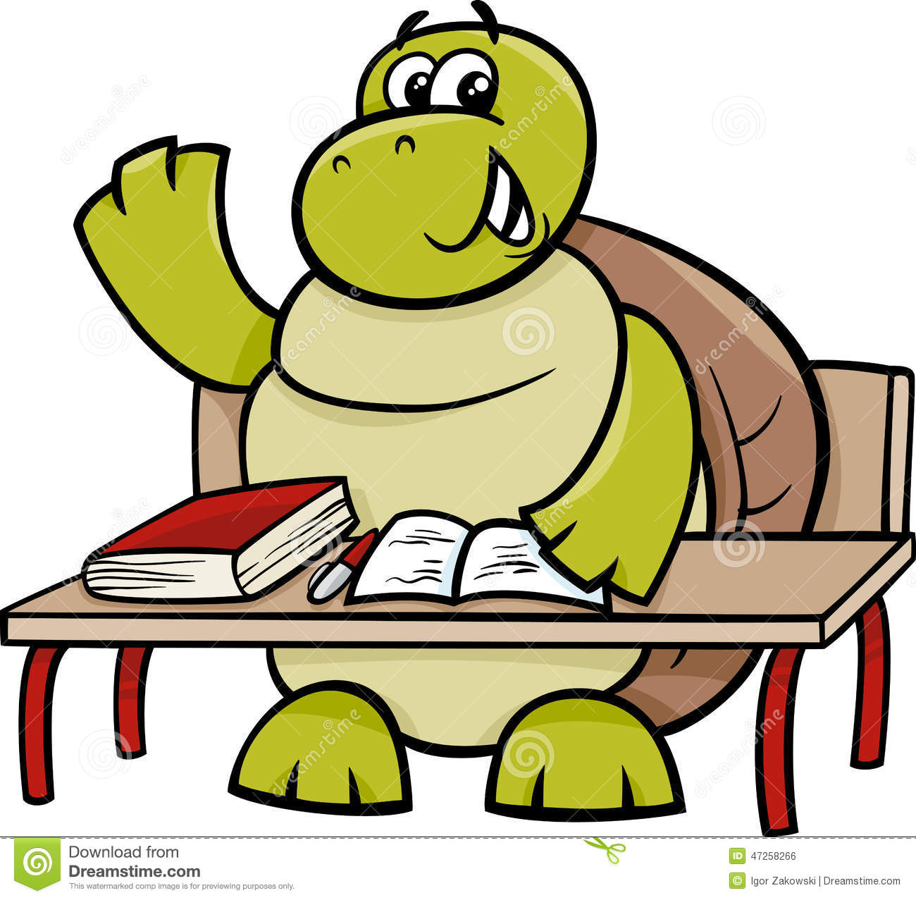 1300x1277 Turtle Clipart Student
