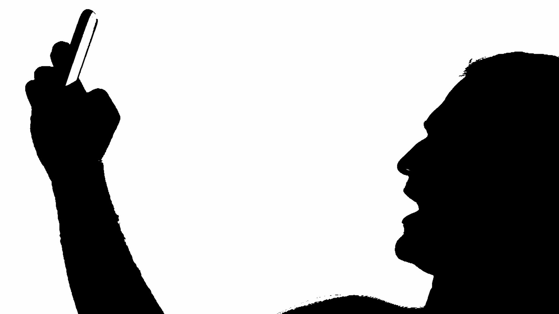 1920x1080 selfie silhouette 1.jpg Clipart Panda