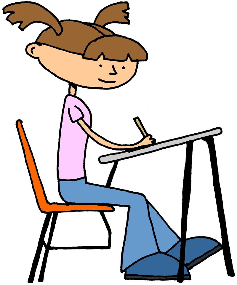 800x962 Student Clip Art