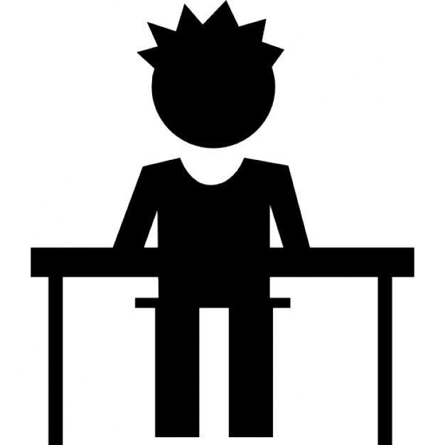 626x626 Student In Class Sitting On A Chair