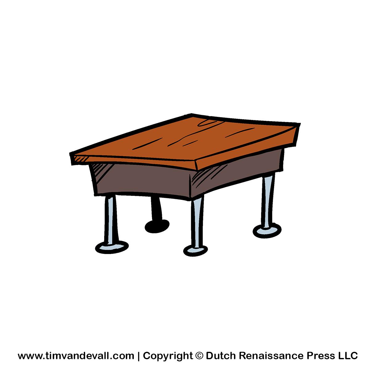 1200x1200 Clipart Desk