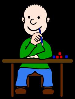 245x324 Desk clipart cute student
