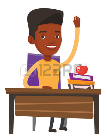 343x450 1,573 Students Hands Up Stock Vector Illustration And Royalty Free