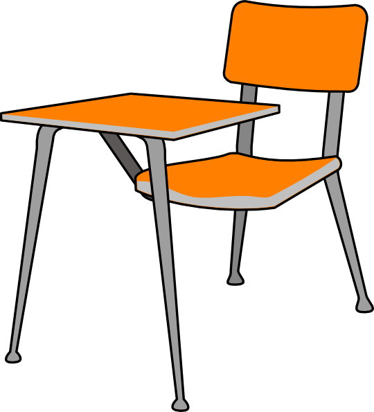 540x595 Student Desk Clipart Many Interesting Cliparts