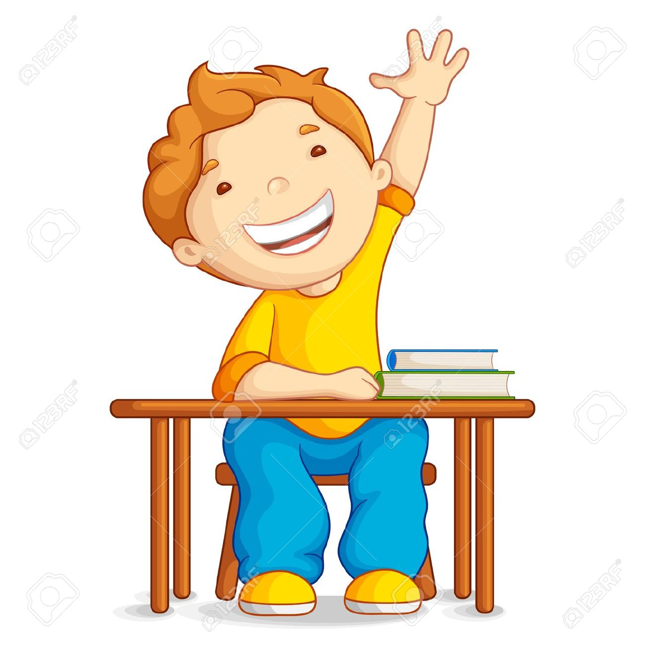 1300x1300 Student Thinking Clipart
