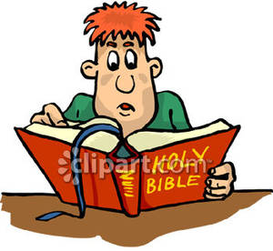 300x276 Bible Clipart Study