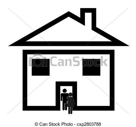450x421 Construction House Clip Art Black And White Clipart Panda