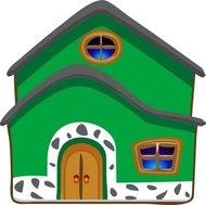 190x189 Cartoon House Clip Art Download 1,000 Clip Arts