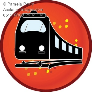 300x300 Railway Train Or Subway Icon Royalty Free Clip Art Picture