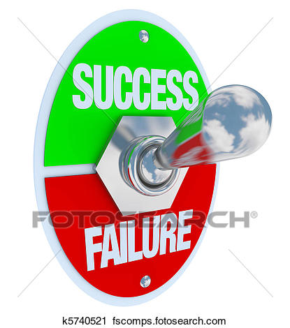 415x470 Clipart Of Success Vs Failure